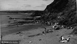 Polkerris, The Beach And Coast c.1960