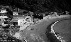 Polkerris, The Beach c.1950