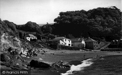 Polkerris, The Beach c.1960