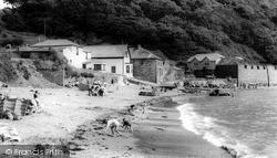 Polkerris, The Beach c.1965