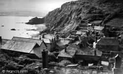 Polkerris, The Cliffs c.1950