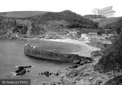 Polkerris, The Old Quay c.1950