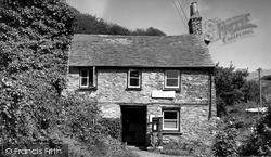 Polkerris, The Post Office c.1955