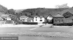 Polkerris, View From The Pier c.1960