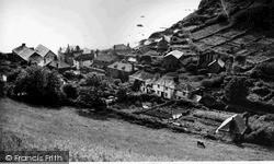 Polkerris, Village From The Cliffs c.1950