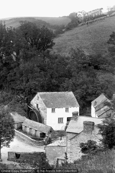 Polperro,the Old Mill 1908,Cornwall