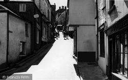 Fore Street c.1955, Polruan
