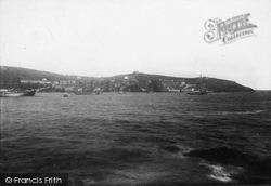 Polruan, From The Ferry 1891