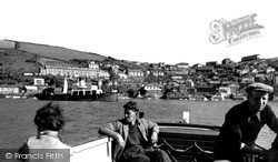 From The Ferry c.1955, Polruan