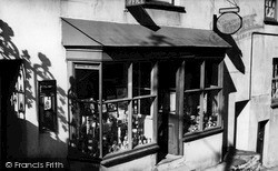 Post Office c.1955, Polruan