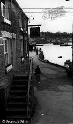 Quayside c.1955, Polruan
