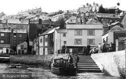 The Quay And Ferry c.1955, Polruan