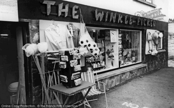 Photo of Polruan, the Winkle Picker c1965
