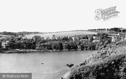 View From The Battery c.1955, Polruan