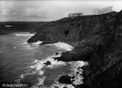 Polurrian Bay, Polurrian Hotel And Cliffs 1922, Polurrian Cove