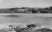 Polzeath, the Sands c1960