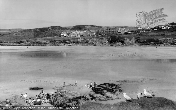 Photo of Polzeath, the Sands c1960