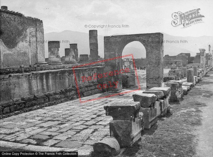 Photo of Pompeii, 1939