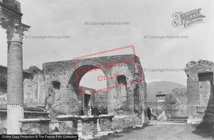Photo of Pompeii, c.1939