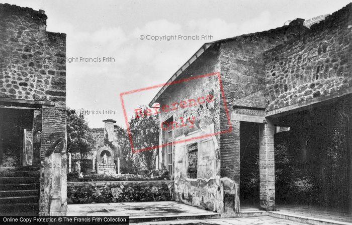 Photo of Pompeii, House Of Marcus Lucreus Fronto c.1920