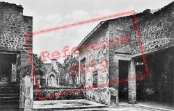 House Of Marcus Lucreus Fronto c.1920, Pompeii