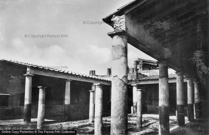 Photo of Pompeii, House Of Paquius Proculus c.1920