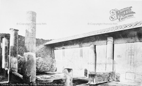Photo of Pompeii, House Of The Small Fountain c.1870