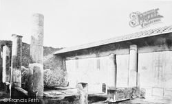 Pompeii, House Of The Small Fountain c.1870