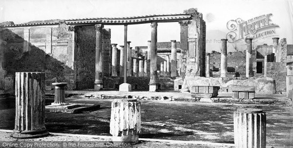 Photo of Pompeii, House Of The Small Fountain c.1872