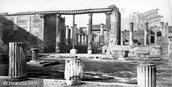 Pompeii, House Of The Small Fountain c.1872