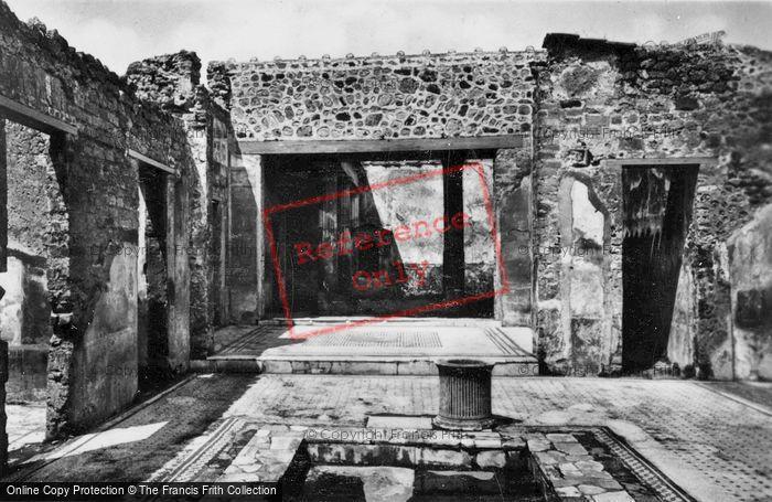 Photo of Pompeii, House Of The Tragic Poet c.1920