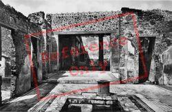 House Of The Tragic Poet c.1920, Pompeii