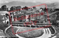 Large Theatre c.1920, Pompeii
