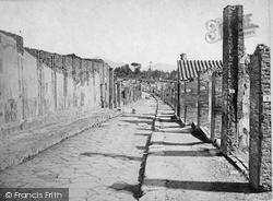 Pompeii, Strada Dell' Abondanza c.1875