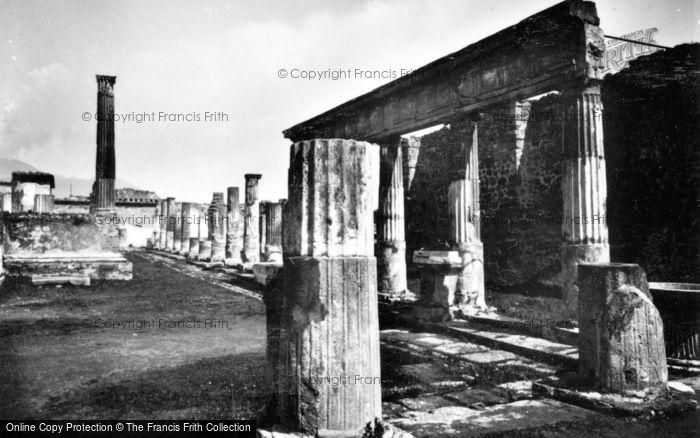 Photo of Pompeii, Temple Of Apollo c.1920