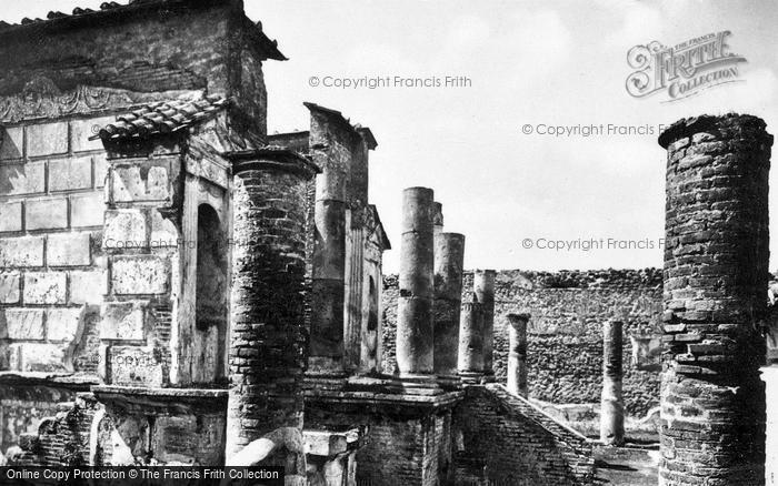 Photo of Pompeii, Temple Of Isis c.1920