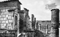 Temple Of Isis c.1920, Pompeii
