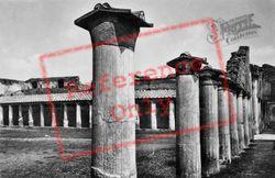 Terme Stabiane, Palaestra c.1920, Pompeii