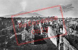 View Towards Vesuvius c.1920, Pompeii