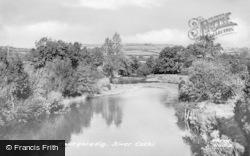 Pont-Ar-Gothi, River Cothi c.1955