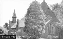 Pontardawe, All Saints Church c.1960