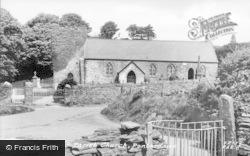 Pontardawe, Llangiwg Church c.1960
