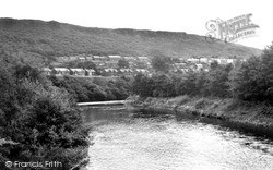 Pontardawe, The River c.1965