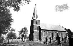 Pontarddulais, Church Of St Teilo c.1965