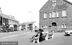 Pontarddulais, Hermon Square c.1965