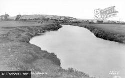 Pontarddulais, The River c.1945