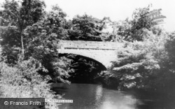 The Bridge c.1965, Pontdolgoch
