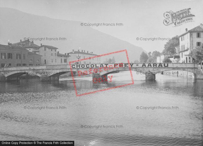 Photo of Ponte Tresa, The Bridge c.1935