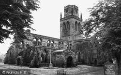 All Saints Church c.1965, Pontefract