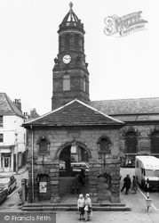 Church Of St Giles And Buttercross 1964, Pontefract